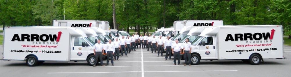 Arrow Plumbing Fleet in Little Rock, AR